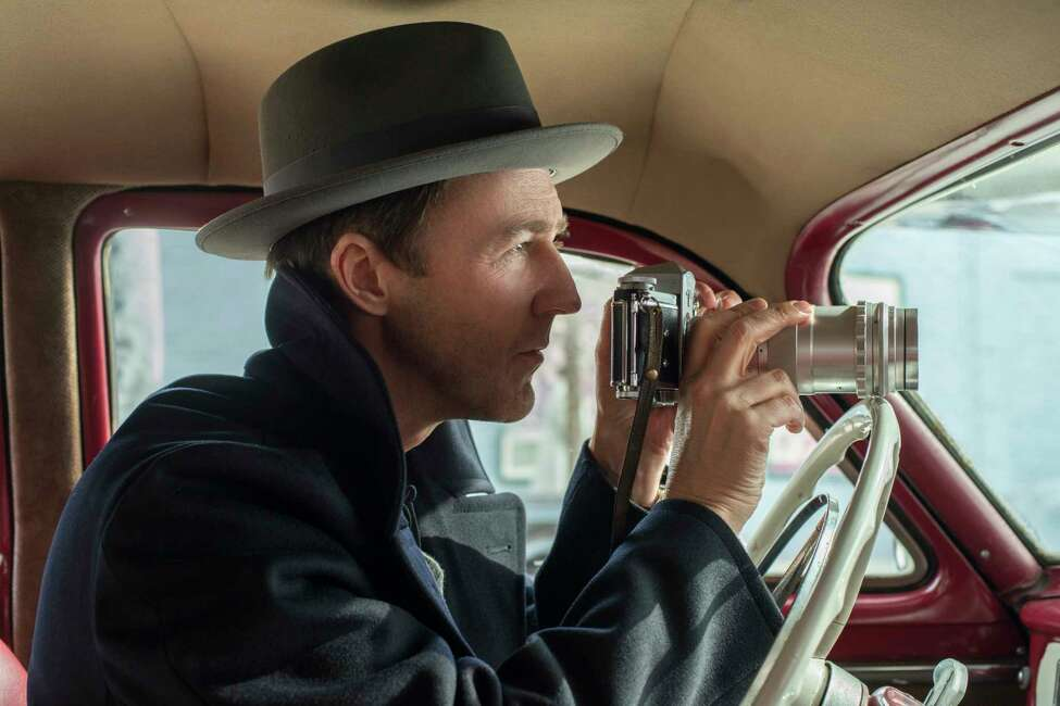 This image released by Warner Bros. shows Edward Norton in a scene from