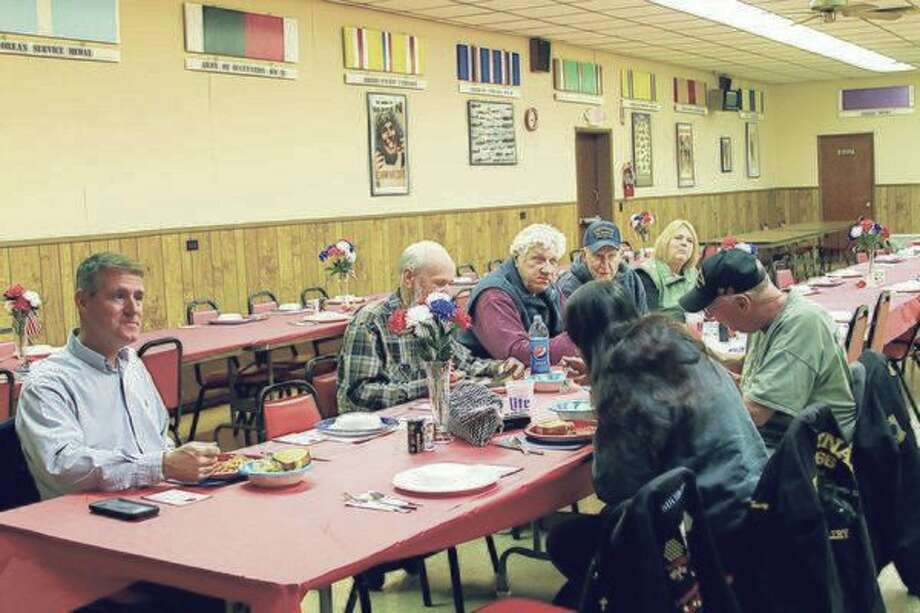 Bear Creek VFW Post No. 6333 in Kaleva hosts a annual dinner for veterans to thank them for their service. This year's event will be from 5-7 p.m. on Monday at the post in Kaleva. (News Advocate File Photo)