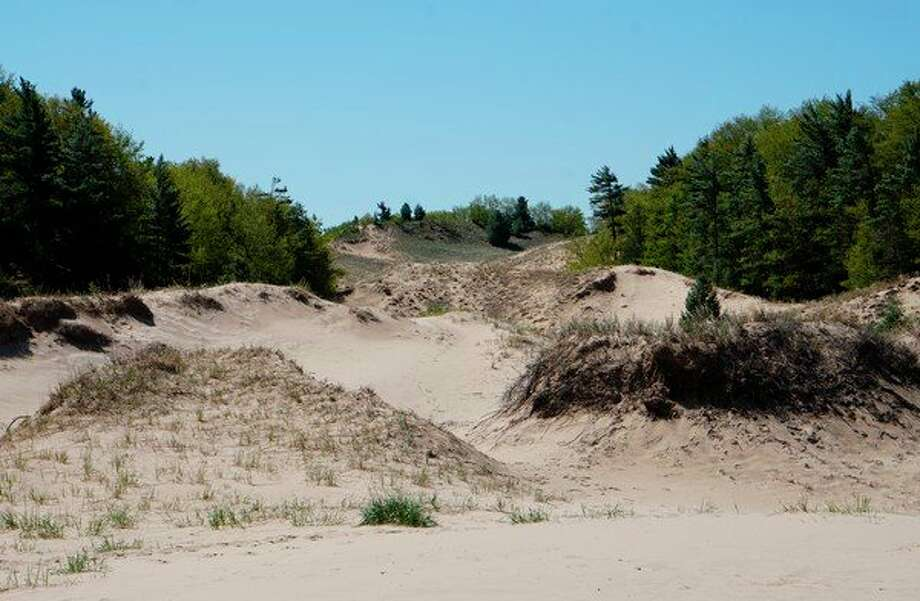 On Nov. 11, the public will have free access to nearly 42 recreation sites in the Huron-Manistee National Forests that have day use fees associated with them, including Nurnberg Trailhead at Nordhouse Dunes near Ludington. (Courtesy photo/U.S. Forest Service)