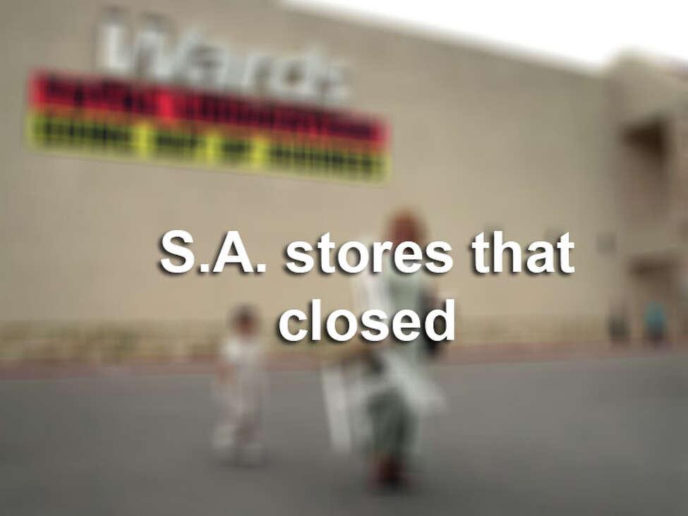San Antonio stores that closed.