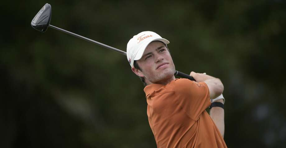 Texas golfer Cole Hammer tees off on the 18th hole during an NCAA golf tournament on Monday, Oct. 21, 2019 in Windermere, Fla. (AP Photo/Phelan M. Ebenhack) Photo: Phelan M. Ebenhack/Associated Press