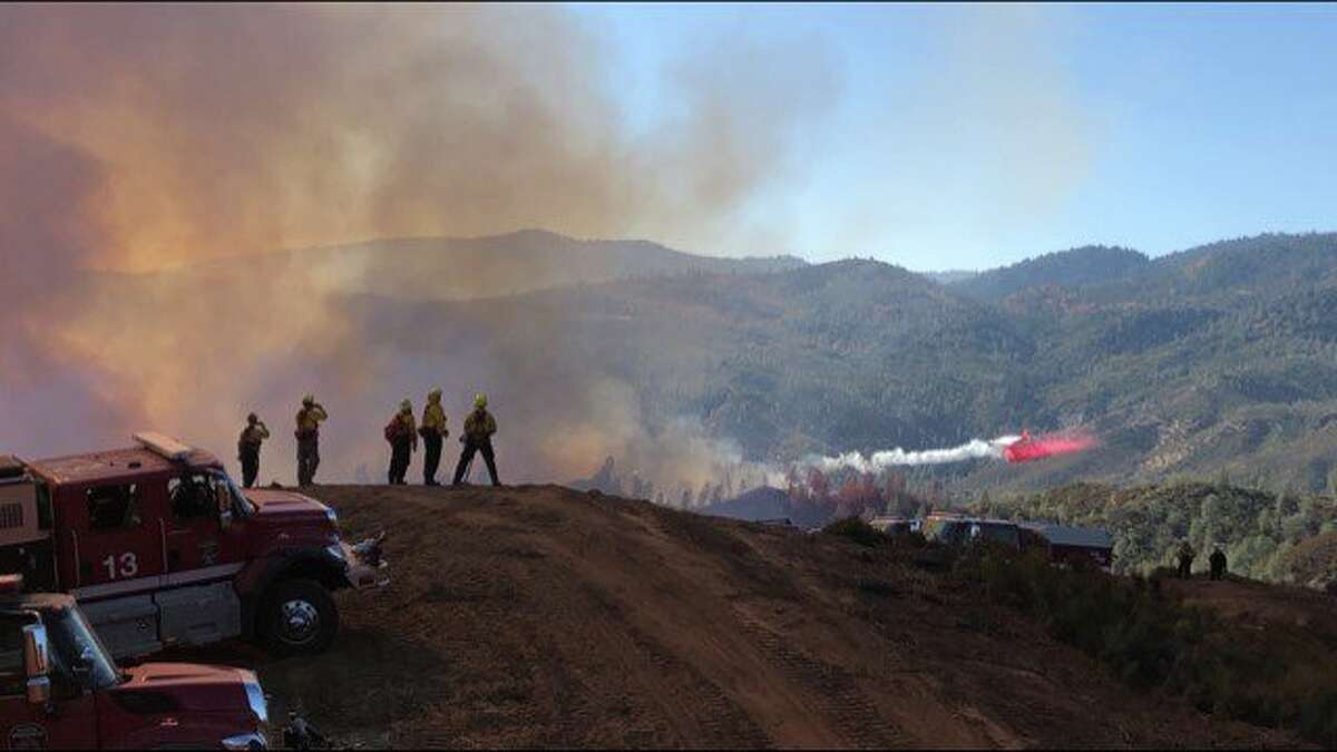 The Ranch Fire started on Sunday southwest of Red Bluff at Colyer Springs and Raglin Ridge roads.