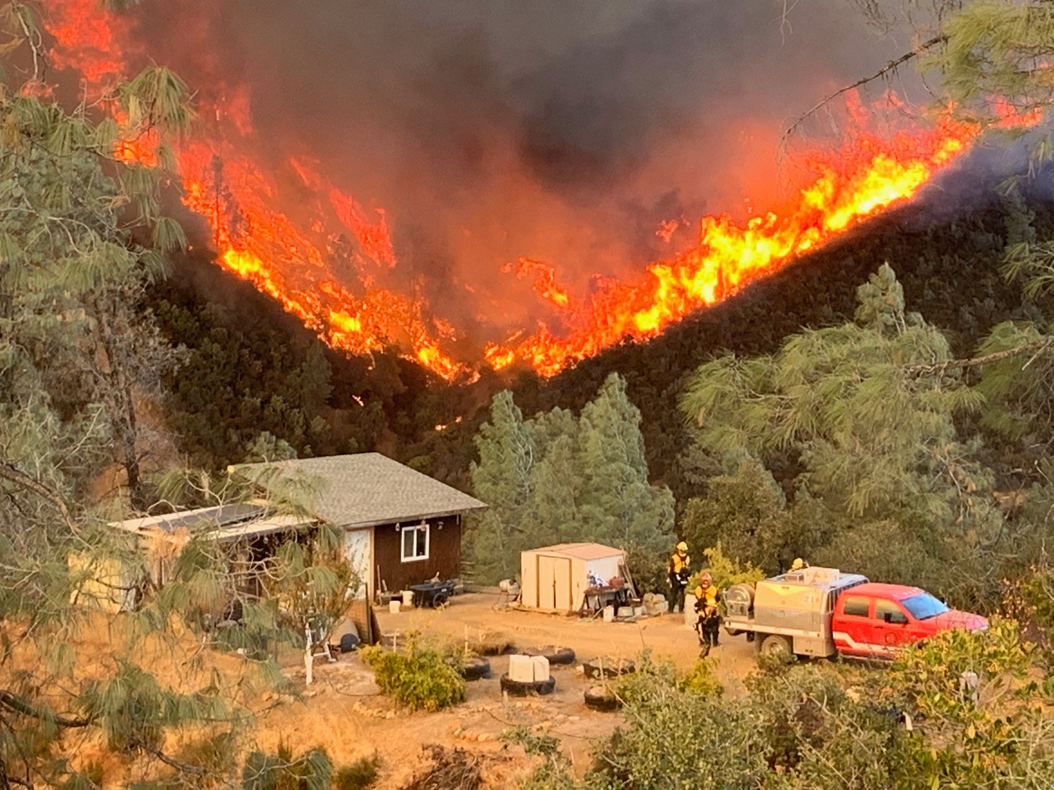 Crews Fire near Gilroy reaches 90% containment on sixth