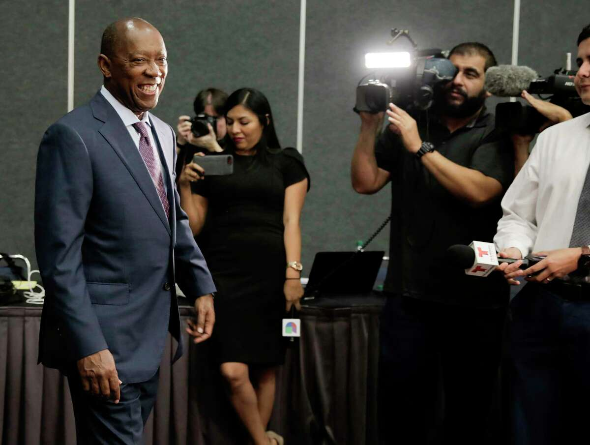 Mayor Sylvester Turner has been the top city official in Houston since 2016. This year, the 65-year-old has faced a contentious political race, fending off attacks from some of his top rivals, including Tony Buzbee and Bill King.