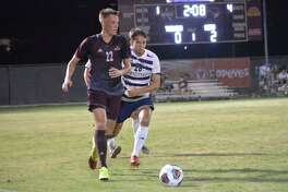 TAMIU midfielder Ruben Nielsen had two goals and two assists in a pair of wins last week to earn LSC Offensive Player of the Week honors.