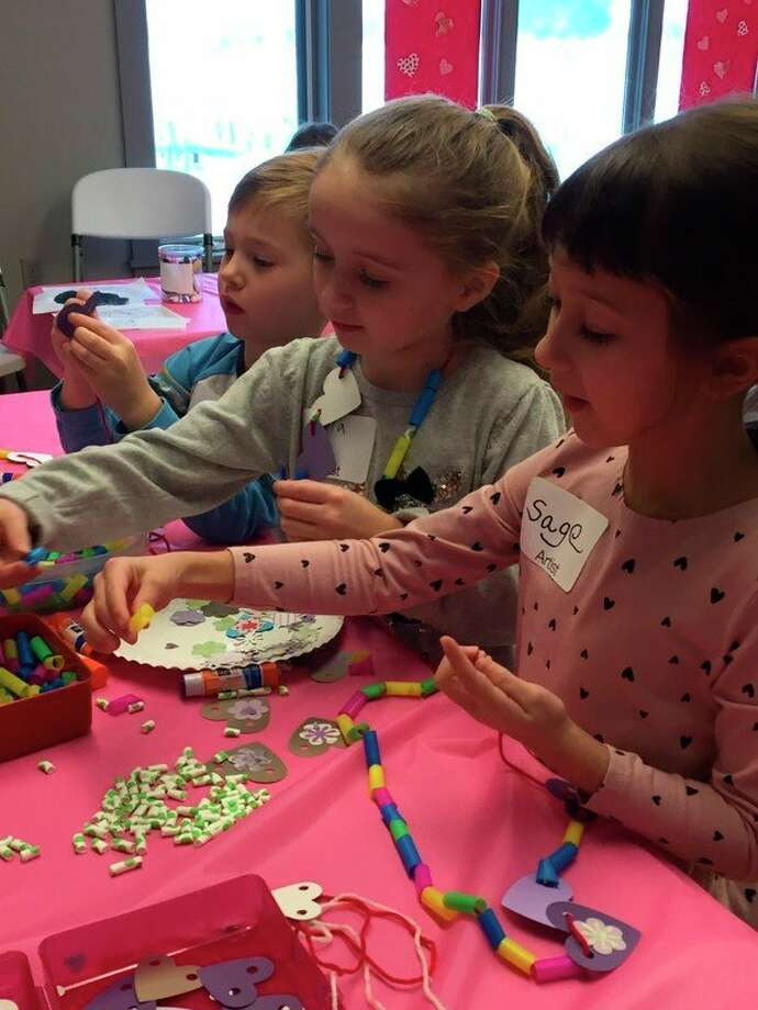 "Children make art during a ""drop in"" session held at the Elizabeth Lane Oliver Center for the Arts, one of the programs a 2020 MCACA grant will continue to help fund.  (Courtesy Photo)"