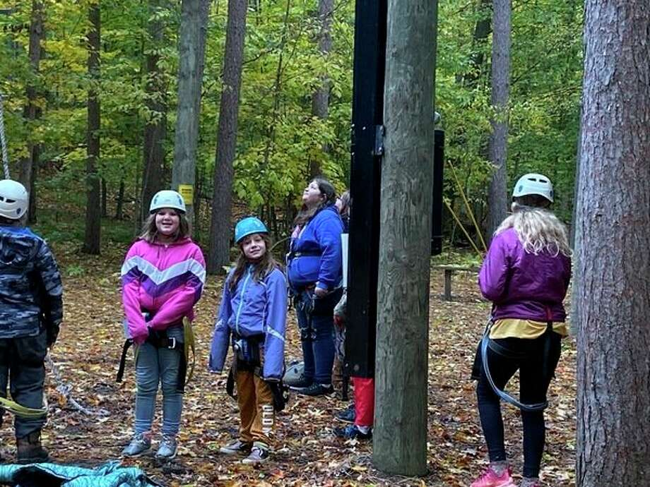 Fifth grade students enjoy their visit to Camp Hayo-Went-Ha. (Submitted photo)