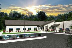 A rendering of the new Shelterhouse facility.