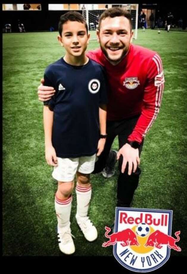 New Milford resident Matheus Schmidt has been selected as one of the top 2008 birth-year prospects in the Red Bull New York - Soccer, and has earned an invitation to try out for the RDS Winter Showcase Teams. The try-out is by invitation only, based on recommendations by RDS coaches, and participation is reserved for around our top 1 percent of players. They invite around 60 to 80 players in each age group. More than 6,000 individuals participated in the past year. Photo: Courtesy Of The Schmidt Family / The News-Times Contributed