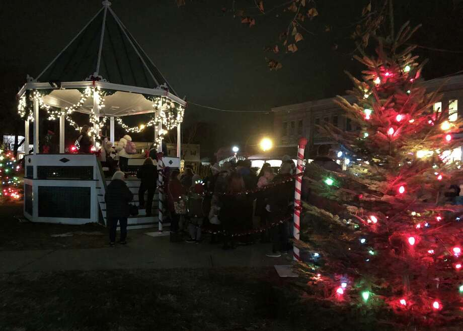 The annual lighting of the trees on the Village Green in New Milford sponsored by the Greater New Milford Chamber of Commerce, is scheduled for Nov. 30. Photo: Deborah Rose / Hearst Connecticut Media / The News-Times  / Spectrum