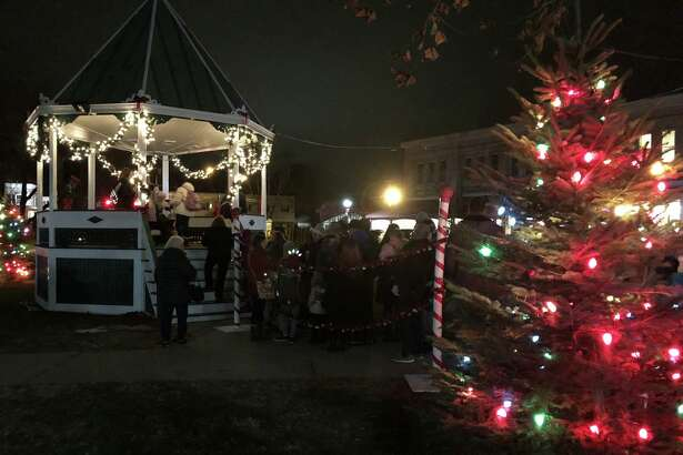 The annual lighting of the trees on the Village Green in New Milford sponsored by the Greater New Milford Chamber of Commerce, is scheduled for Nov. 30.
