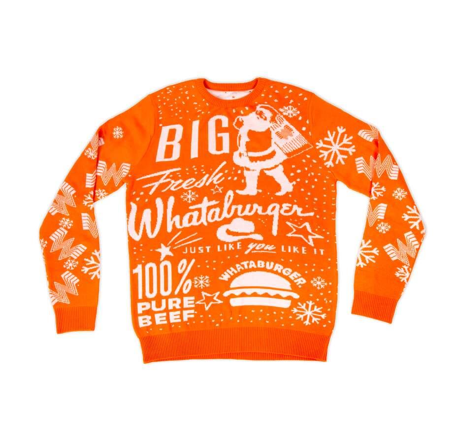Whataburger released its 2019 Christmas sweater on Monday. Photo: Whataburger