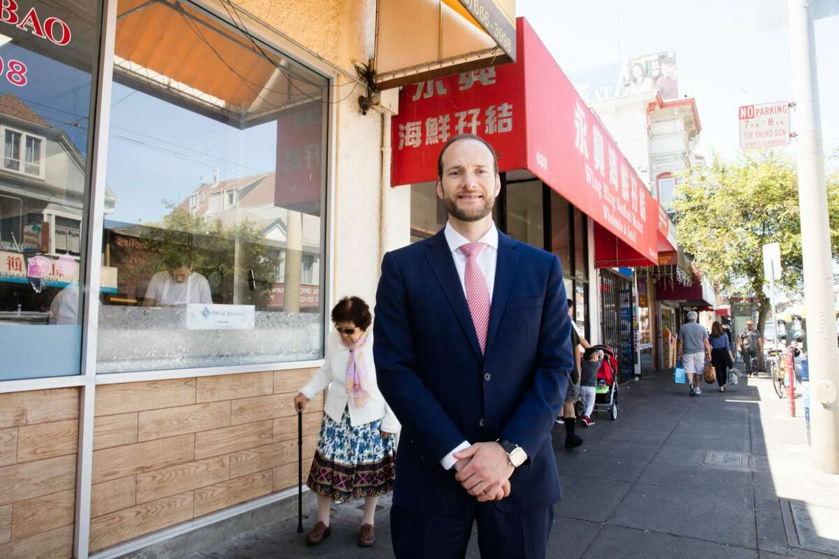 Chesa Boudin is a candidate for the San Francisco District Attorney Office.