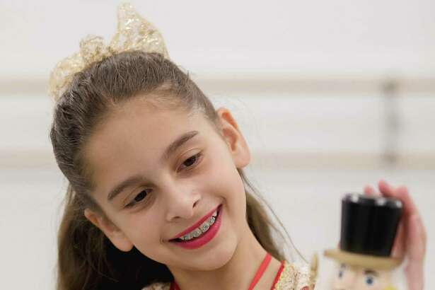 Juliana Grich will be dancing the role of Clara in The Academy of New England Ballet Company's Nutcracker in December at the Klein Theatre in Bridgeport.