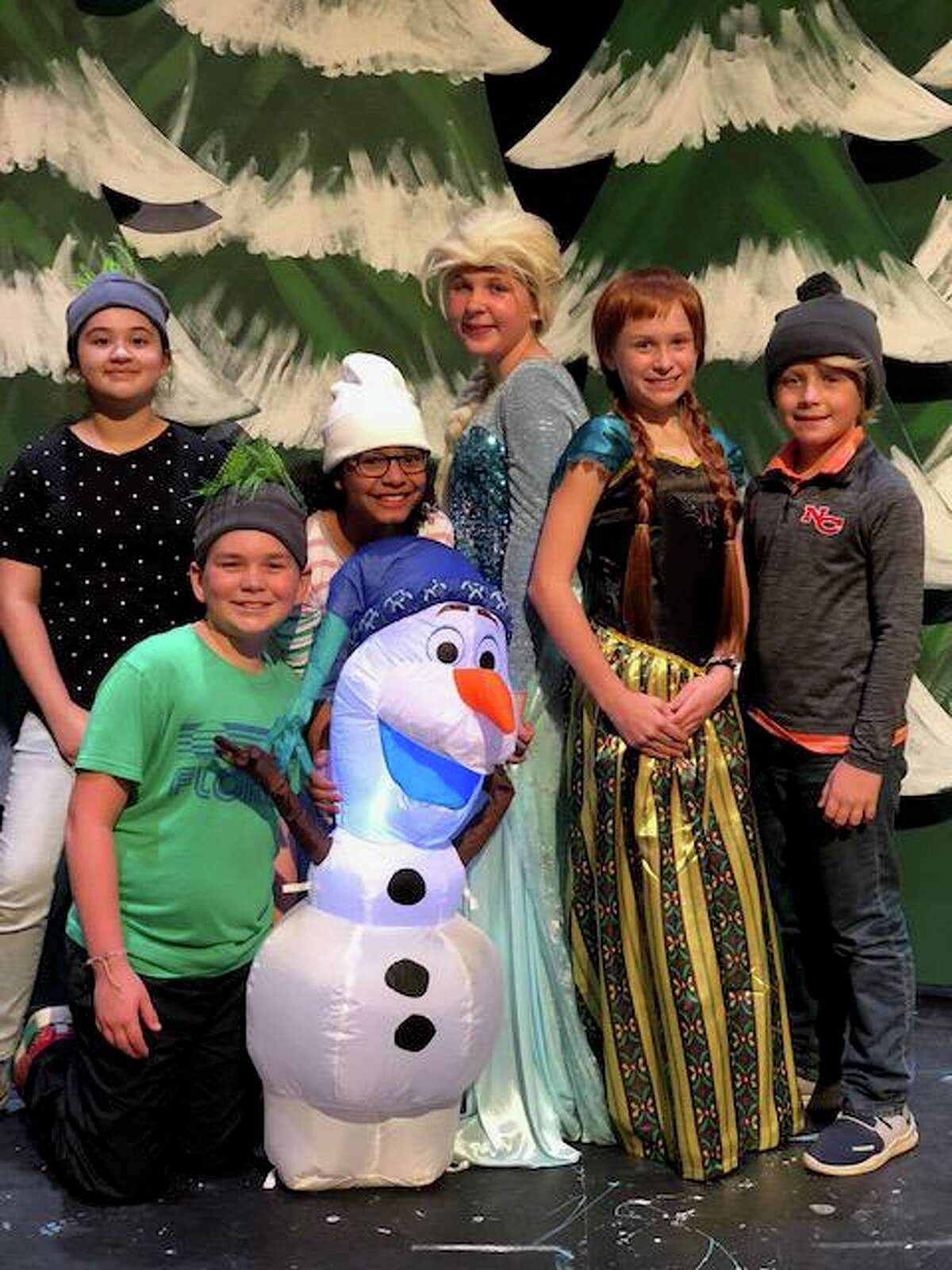 Saxe Middle School fifth and sixth grade production of Frozen Jr. will be held Friday, Nov. 15, at 7 p.m. and Saturday, Nov. 16, at 11 a.m. and 2 p.m., in the Saxe Middle School Theater.