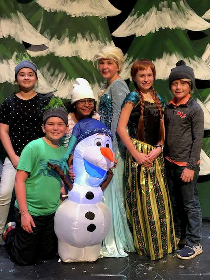 Saxe Middle School fifth and sixth grade production of Frozen Jr. will be held Friday, Nov. 15, at 7 p.m. and Saturday, Nov. 16, at 11 a.m. and 2 p.m., in the Saxe Middle School Theater. Photo: Contributed Photo