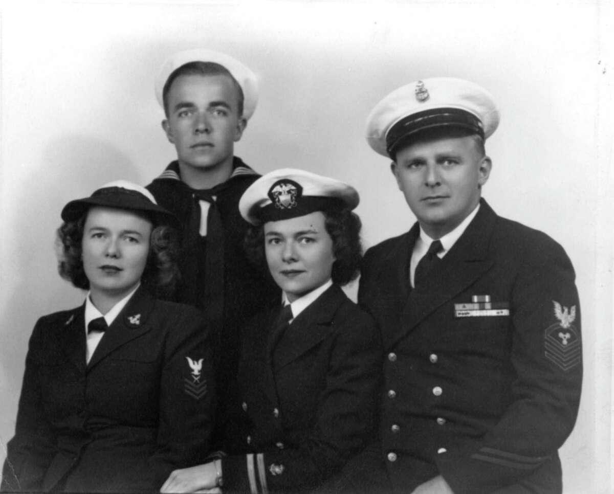 Members of the Skoog family who served in World War II.