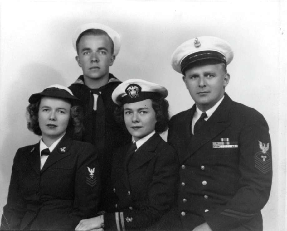Members of the Skoog family who served in World War II. Photo: Contributed Photo