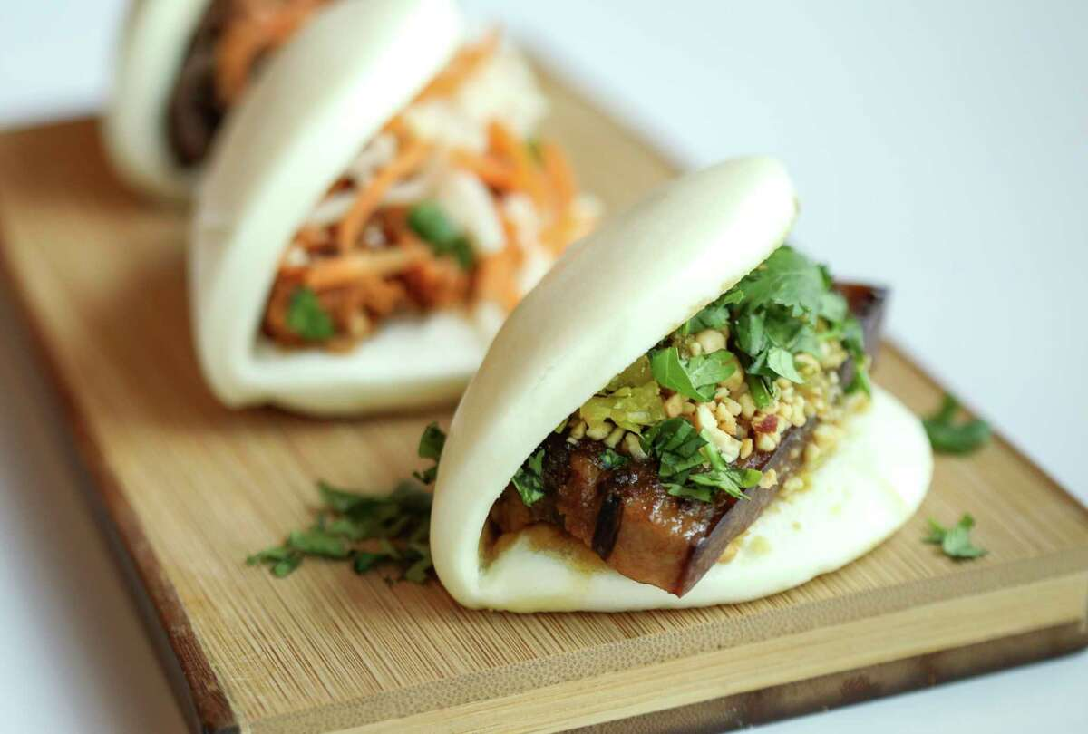 Gwap Bao from Breaking Bao photographed at Politan Row on Monday, Nov. 4, 2019, in Houston.