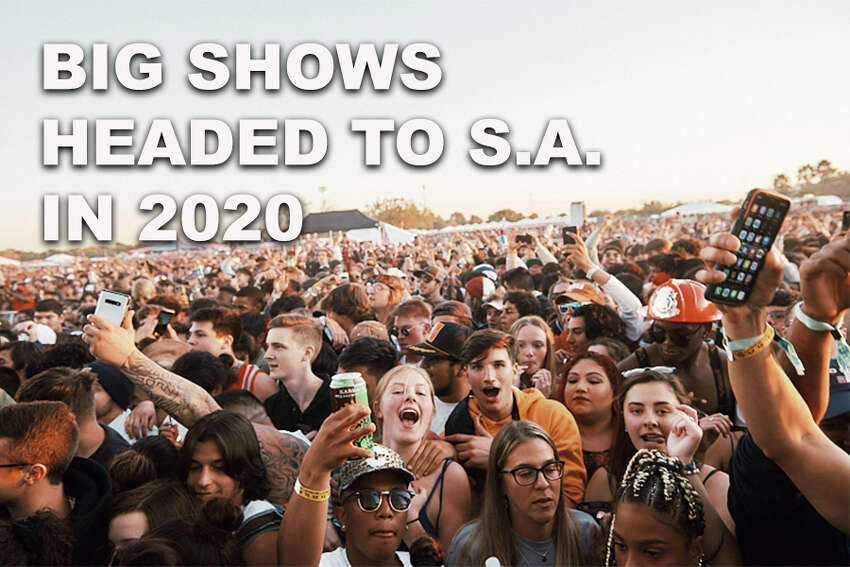 Click through the gallery to see some of the biggest performers coming to the Alamo City in 2020.