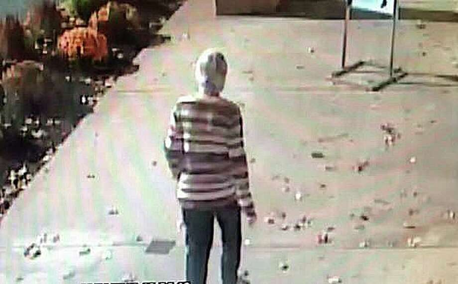 Enfield Police continue to seek information in connection with the missing person investigation of Ondine Frohberg. Frohberg, 64, was last seen in the Olive Garden restaurant at around 1:30 p.m. on Friday, Nov. 1, 2019. This is the last image of Frohberg who was seen in Enfield walking westbound on Route 190 in the area of the I-91/Rt 5 overpasses on Friday Nov. 1, at approximately 1:30 pm. Photo: Enfield Police Photo