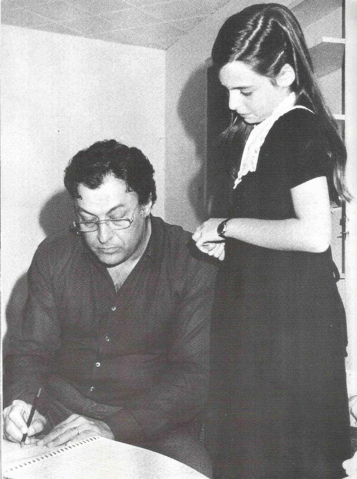 Dalit Warshaw with Zubin Mehta
