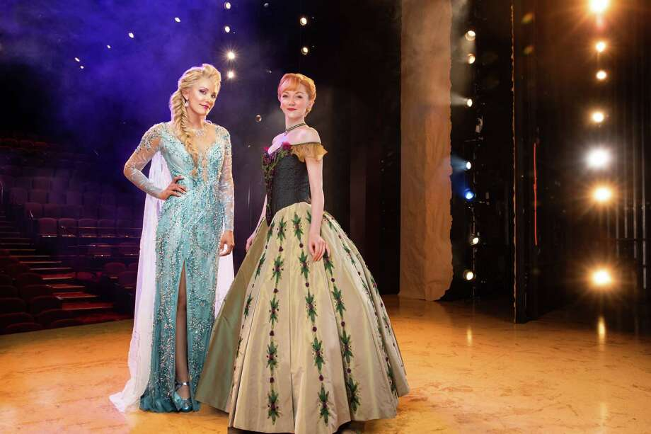 "A scene from the new tour of the Broadway musical ""Frozen,"" launching at Proctors in Schenectady. (Photo by Matthew Murphy for Frozen/Disney Theatricals.) Photo: Matthew Murphy"