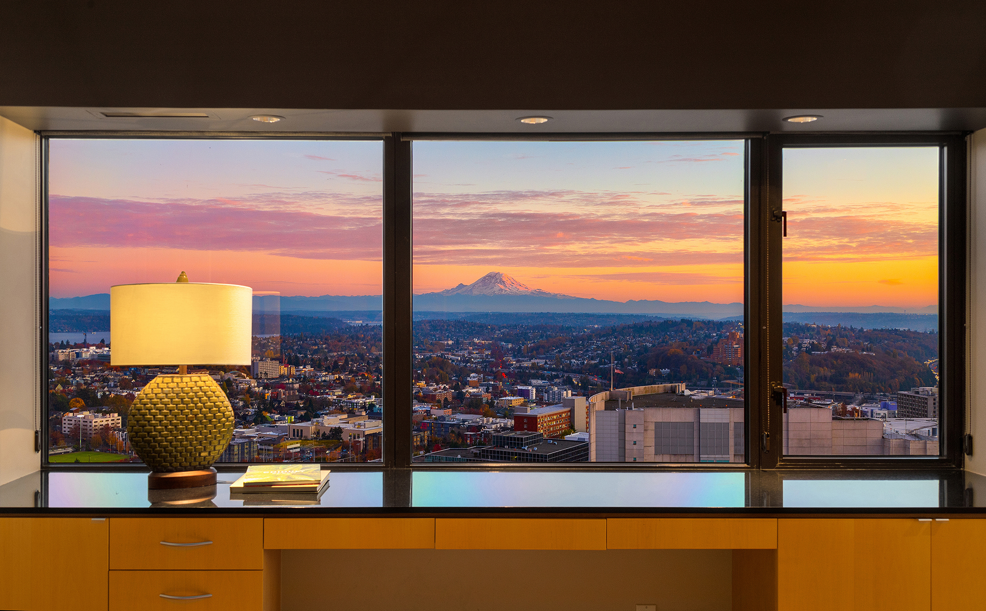 Luxurious First Hill condo offers modern style, incredible views