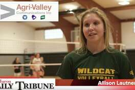 Allison Lautner of the Ubly volleyball team is Athlete of the Week.