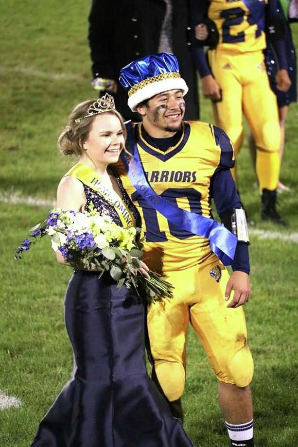 North Huron Schools recently named Hannah Mills their homecoming queen and Brad Hoody homecoming king. (Submitted Photo)