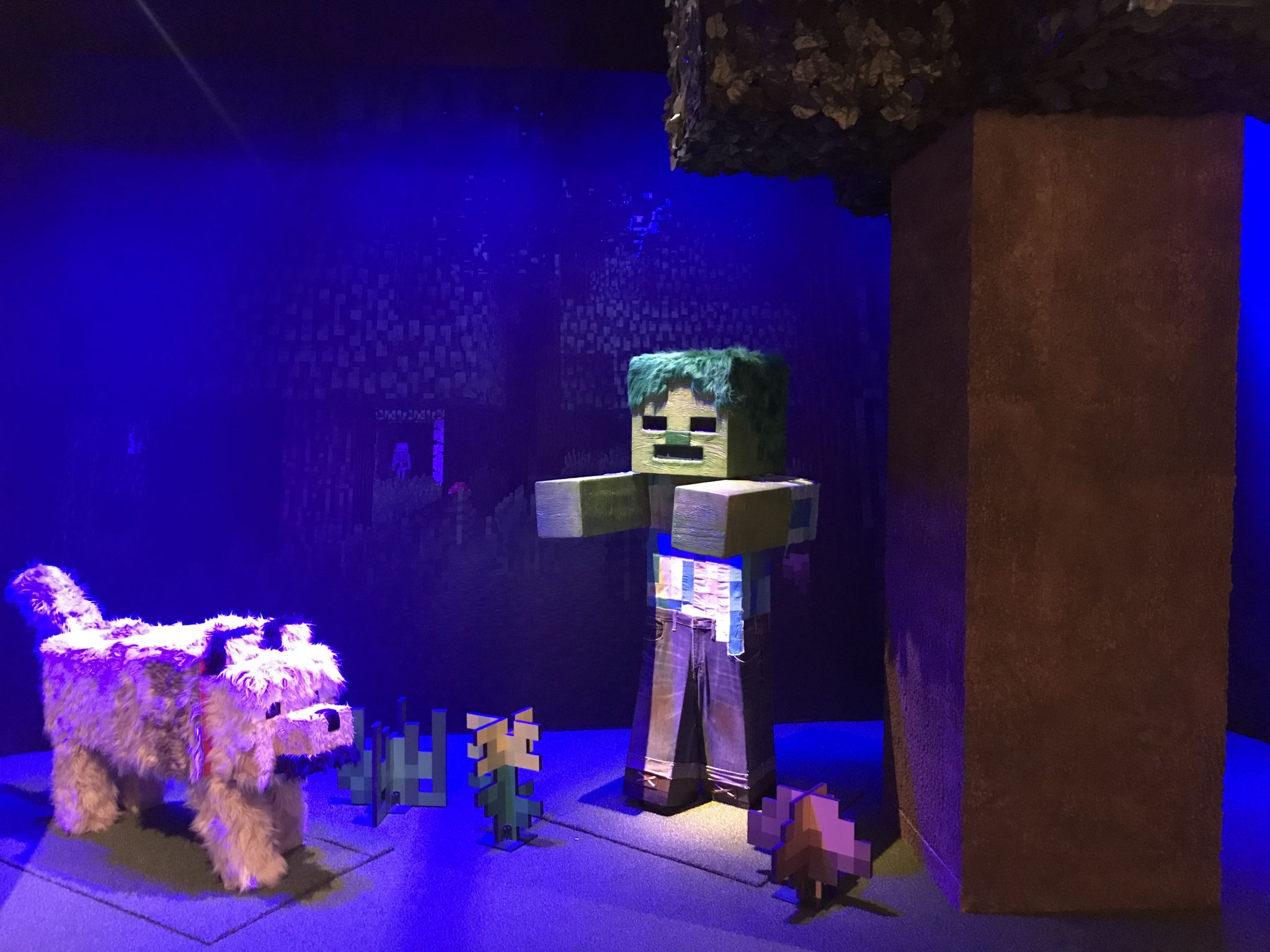 Seattle's MoPOP celebrates 10 years of Minecraft