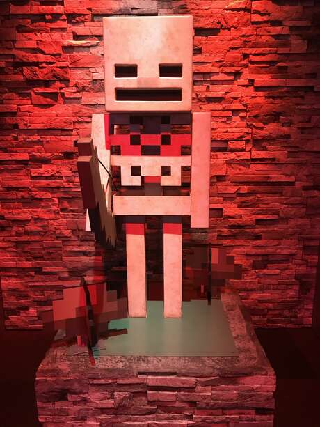 "MoPOP debuts ""Minecraft: The Exhibition"". Photo: Christina Ausley"