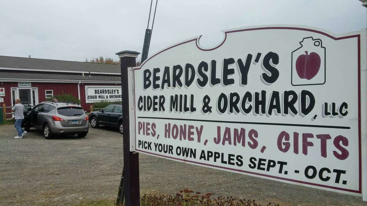Beardsley's Orchard in Shelton is the local source for cider to ferment.