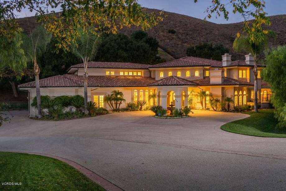 """Come on down! Former """"Price Is Right"""" prize presenter Dian Parkinson is letting go of her Westlake Village, CA estate for $3.125M. Photo: Realtor.com"""