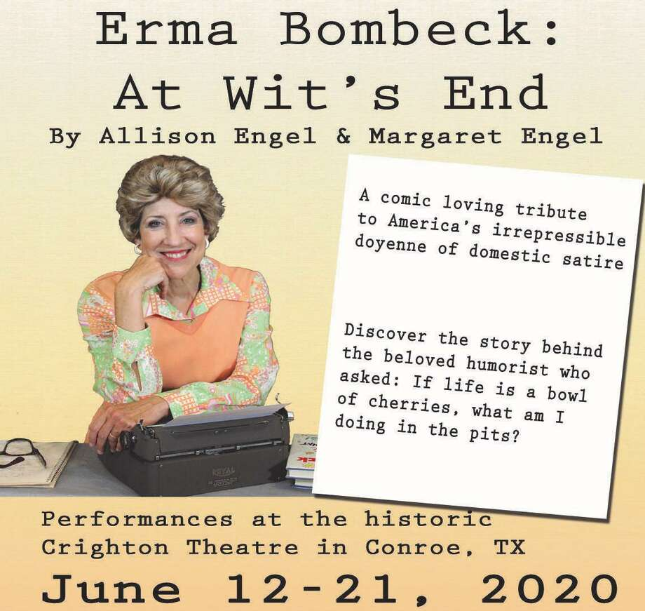 "The Crighton Theatre will present ""Erma Bombeck: At Wit's End"" by Allison Engel and Margaret Engel in June 2020. Carolyn Wong will star as Erma Bombeck. Photo: Courtesy Graphic"