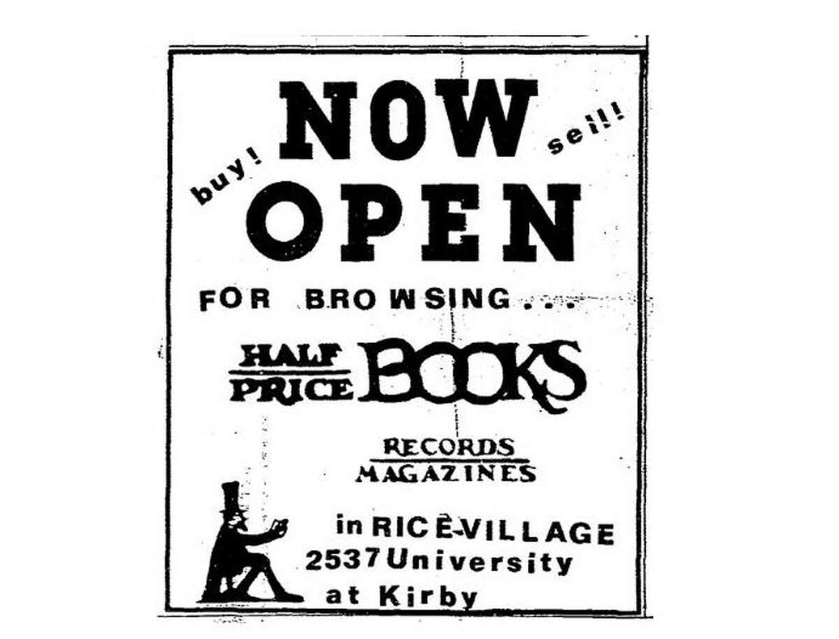 The ad above ran in 1981, the year the store opened.