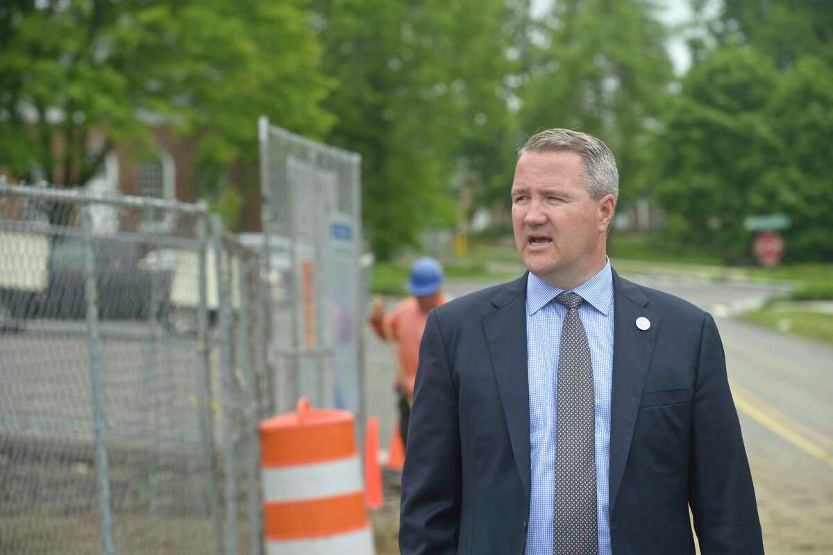 Newtown First Selectman Dan Rosenthal said Wednesday he has not been briefed about the governor's plan to put tolls at the bridge over the Housatonic River along Interstate-84.