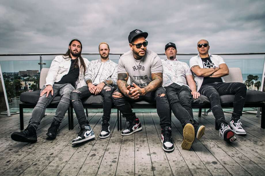 Bad Wolves are set for a headlining show at Jake's Sports Café Backroom on Friday night in Lubbock in support of their second studio album N.A.T.I.O.N. Photo: Courtesy Photo/David Jackson