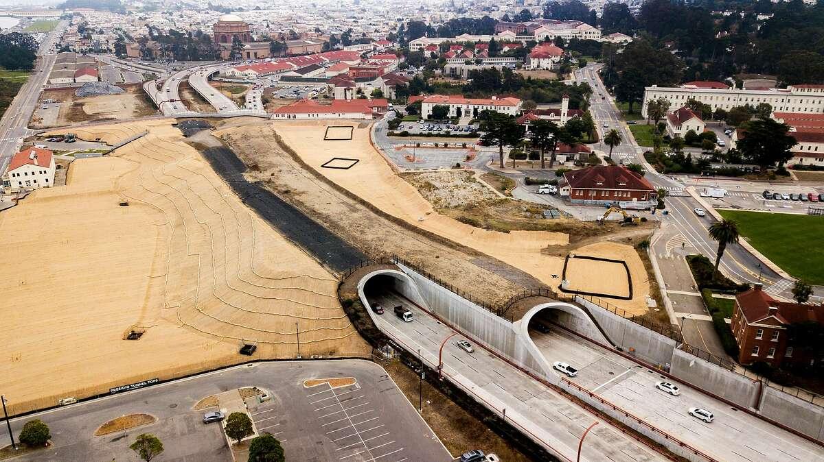 The Presidio Tunnel Tops on Wednesday, Nov. 6, 2019, in San Francisco, Calif.