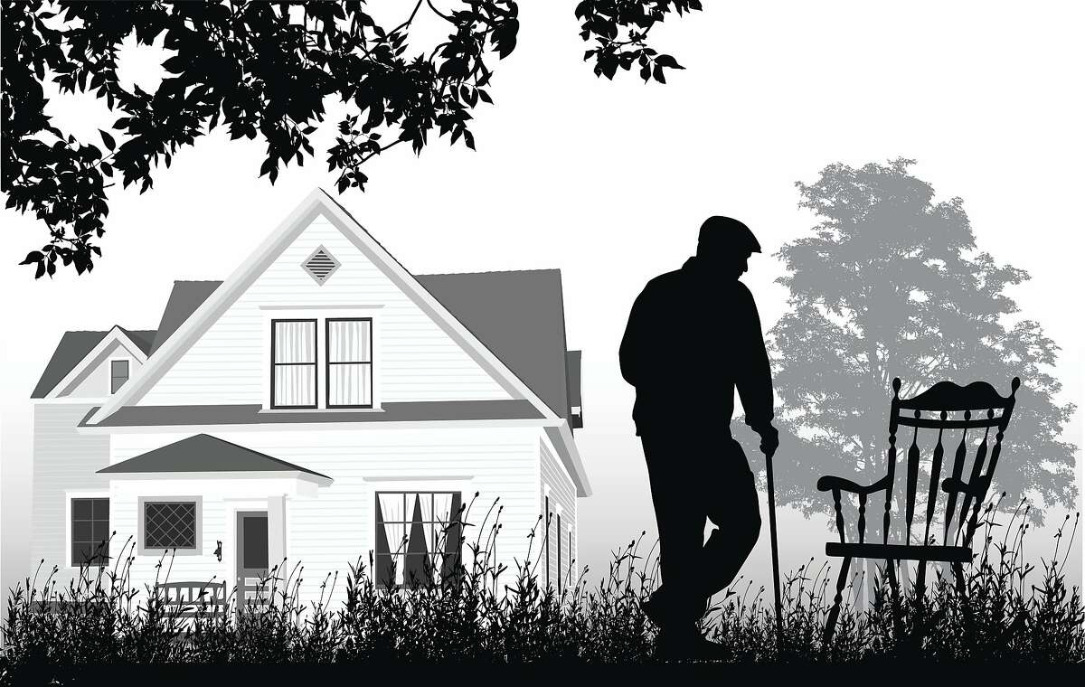 Elderly residents are at risk in a tight housing market.