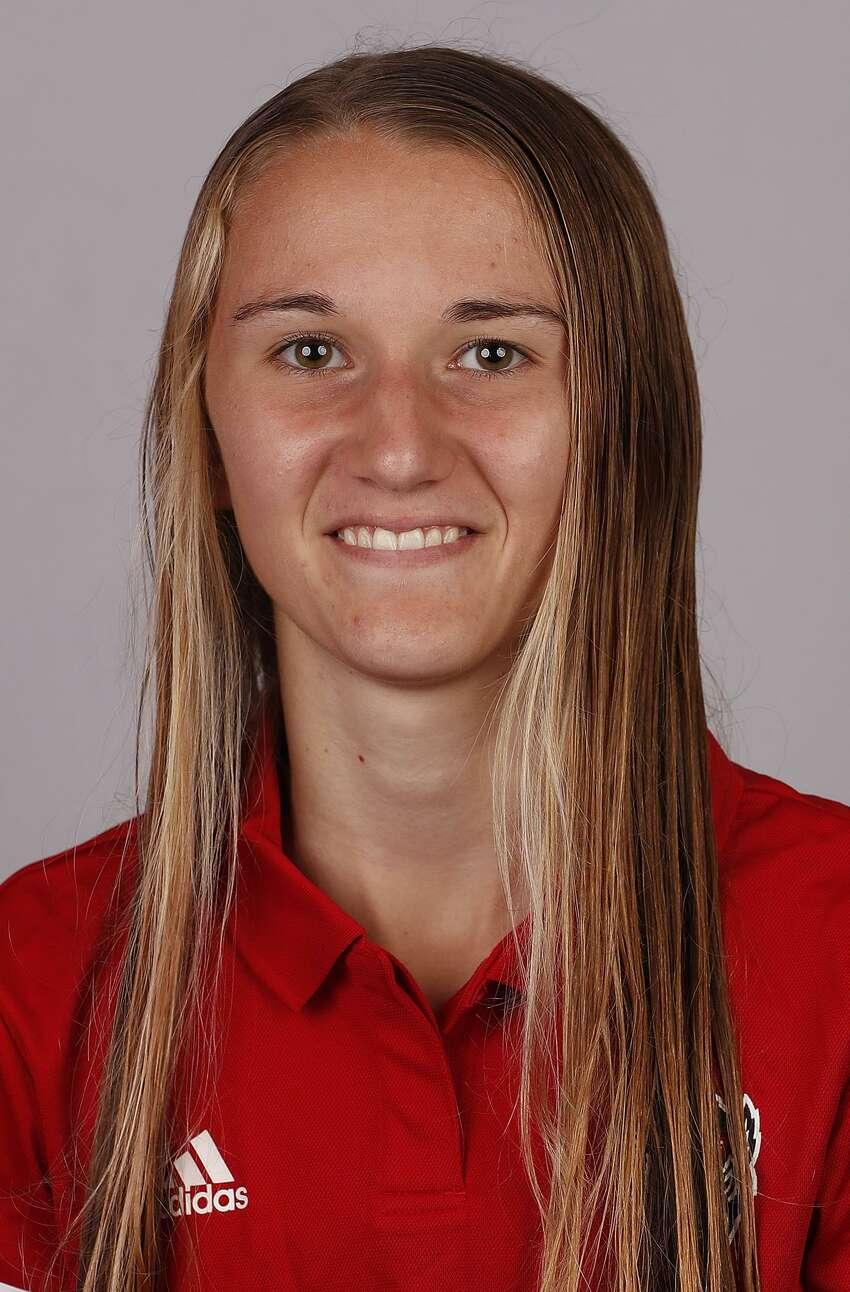 Saratoga Springs High School graduate Kelsey Chmiel of the North Carolina State women's cross country team. (Courtesy of North Carolina State Communications)