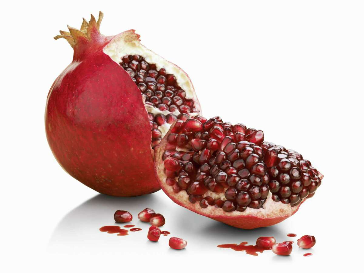 An open pomegranate. (Getty Images)