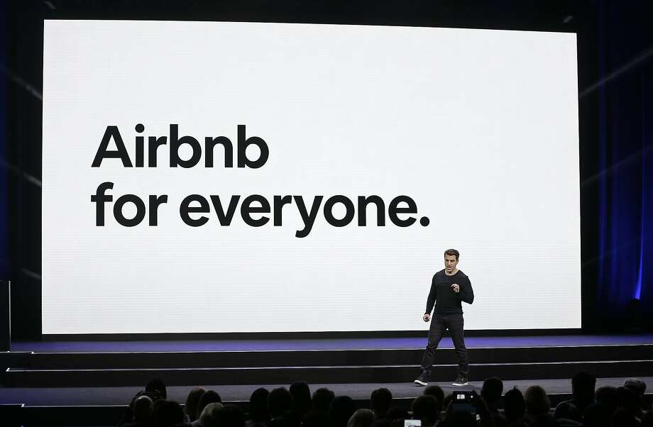 Airbnb co-founder and CEO Brian Chesky says his company is cracking down on renting party houses (Photo: 2018) Photo: Eric Risberg, Associated Press