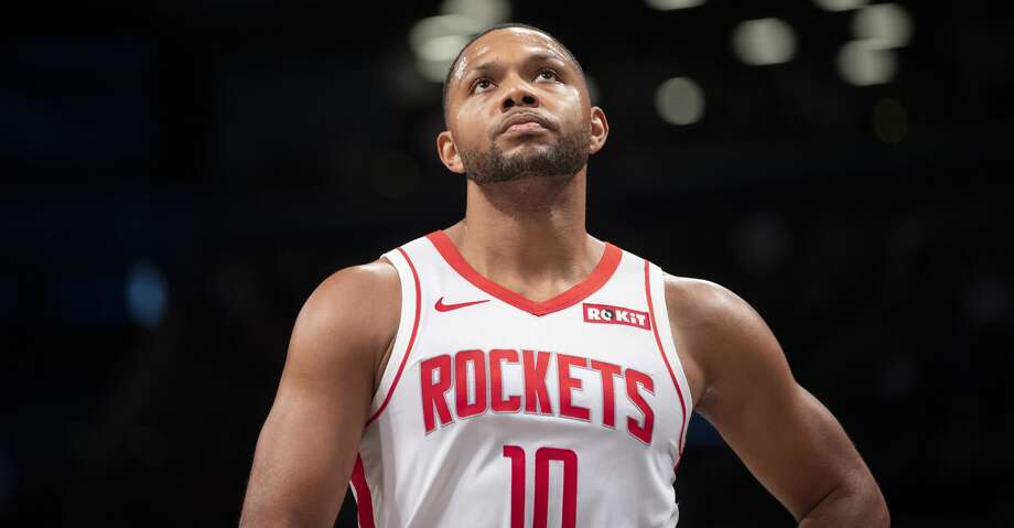 PHOTOS: Rockets game-by-game Houston Rockets guard Eric Gordon reacts during the first half of an NBA basketball game against the Brooklyn Nets, Friday, Nov. 1, 2019, in New York. (AP Photo/Mary Altaffer) Browse through the photos to see how the Rockets have fared in each game this season. Photo: Mary Altaffer/Associated Press