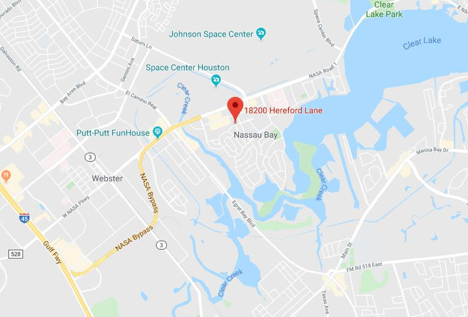 An old military ordnance was found Wednesday inside a home that was being remodeled in Nassau Bay, police say. Photo: Google Maps