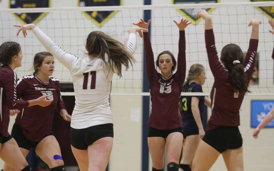 Cass City traveled to Bad Axe for the District semifinals and prevailed with a four-set win on Wednesday, Nov. 6. Photo: Eric Rutter / Huron Daily Tribune