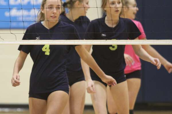 Cass City traveled to Bad Axe for the District semifinals and prevailed with a four-set win on Wednesday, Nov. 6.