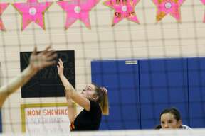 The Ubly volleyball team beat Deckerville in five games on Wednesday night to earn a trip to the district finals on Thursday against North Huron.