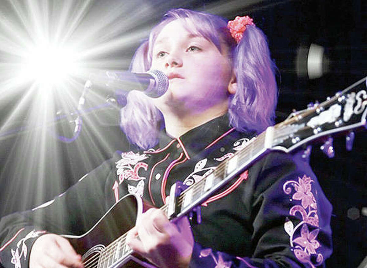 Ruby Leigh Pearson performs in Nashville, Tennessee.