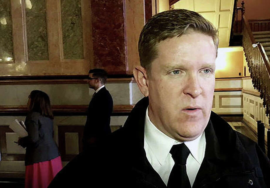 Illinois State Police Director Brendan Kelly. Photo: Greg Bishop   Illinois News Network
